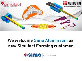 Sima Aluminyum is now using Simufact Forming