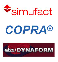We became reseller of Simufact, COPRA and Dyna-Form
